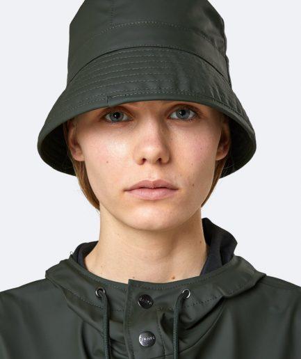 RAINS Bucket Hat Green
