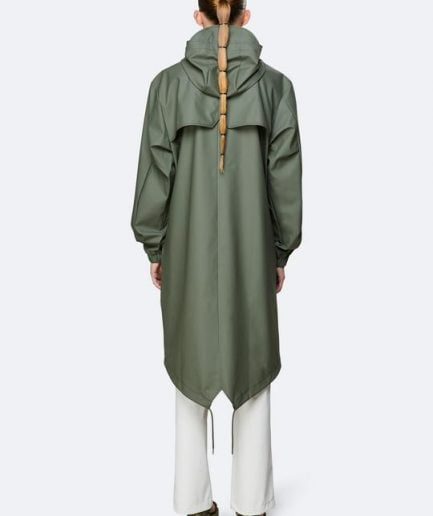 Rains Fishtail Parka Olive