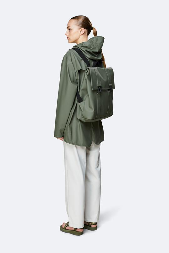 """RAINS Backpack """"Msn Bag"""" Olive"""