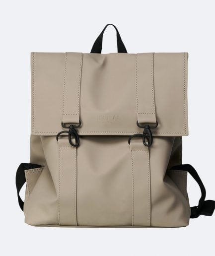 "RAINS Mugursoma ""Msn Bag"" Taupe"