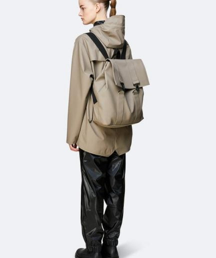 "RAINS Backpack ""Msn Bag"" Taupe"