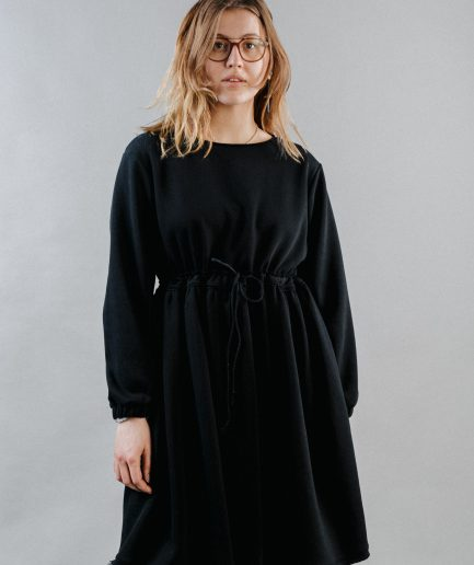 M50 Dress Cute with Pockets Thick Black