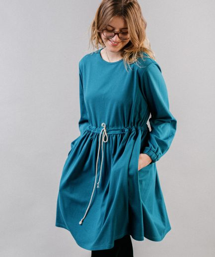 M50 Dress Cute with Pockets Ocean