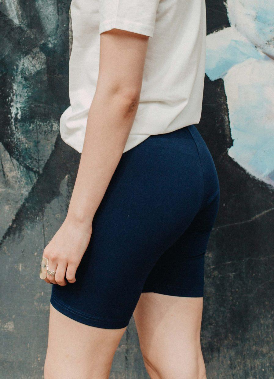 M50 Biker shorts Navy blue