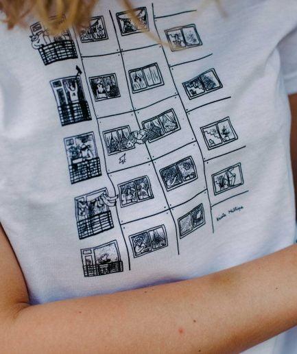 KRISTA MILTINA T shirt HOUSE, black