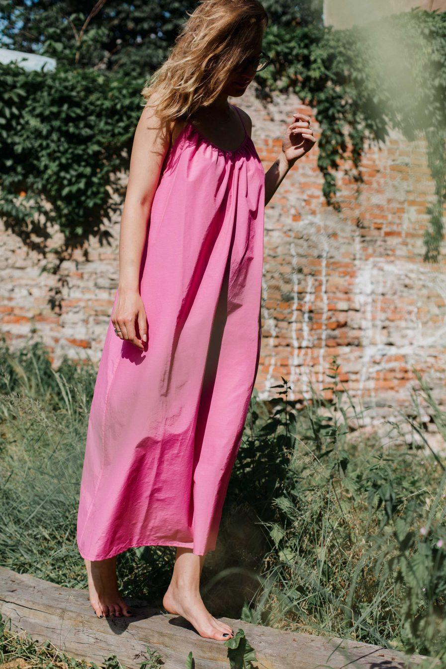 M50 kleita VASARA  | Fuksija