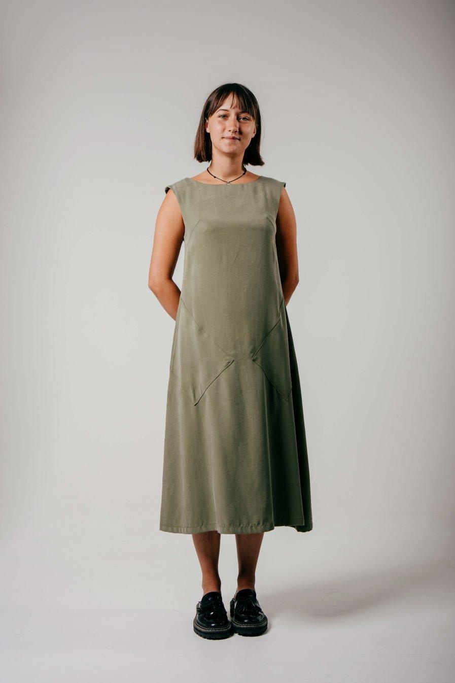 M50 Dress Nocturne | Olive