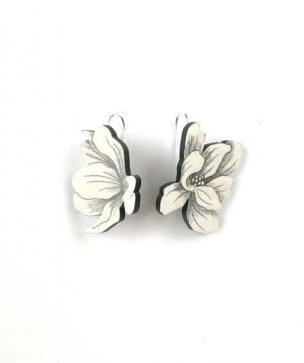 NADA Earrings Magnolias #032AS