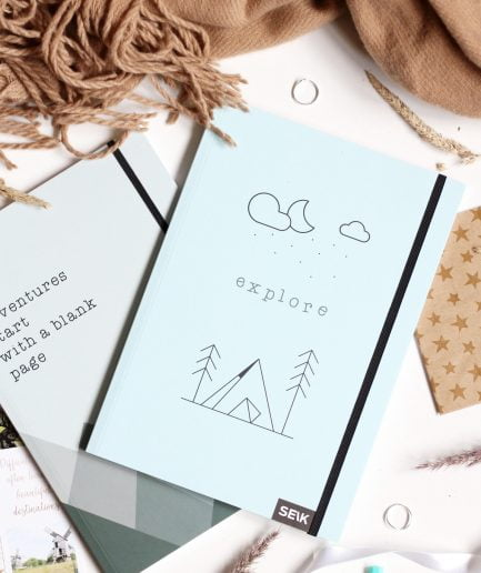 SEIK BULLET JOURNAL Start with a blank page & Explore