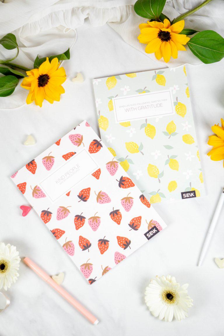 SEIK BULLET JOURNAL Strawberries & Lemons