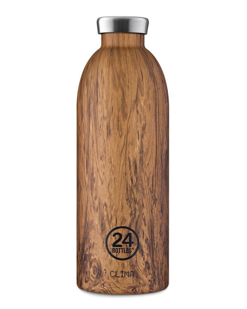 24Bottles Clima Bottle Sequoia Wood 850ml