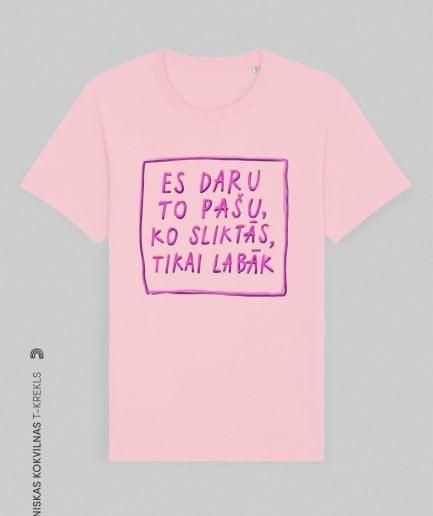 "TIZLENES x Vaira Vīksne T-SHIRT ""BAD GIRLS"""