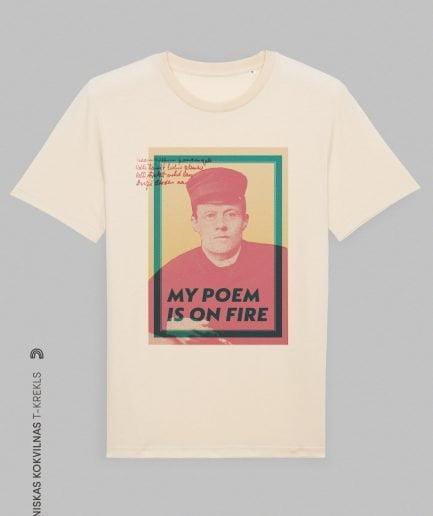 """Vaira Vīksne Organiskas Kokvilnas T-krekls """"Veidenbaums"""""""