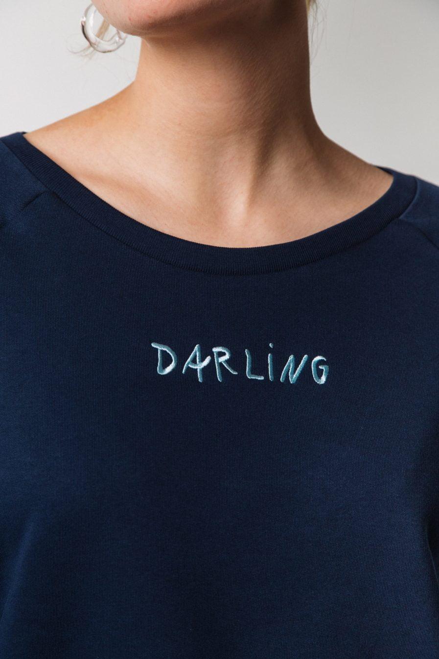 """M50 TERRY SWEATSHIRT """"DARLING"""""""