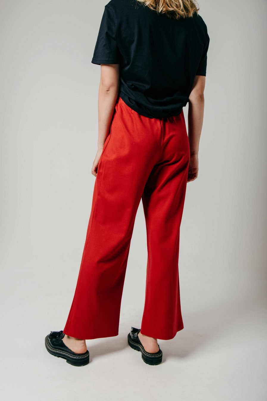 M50 Wide Pants Red