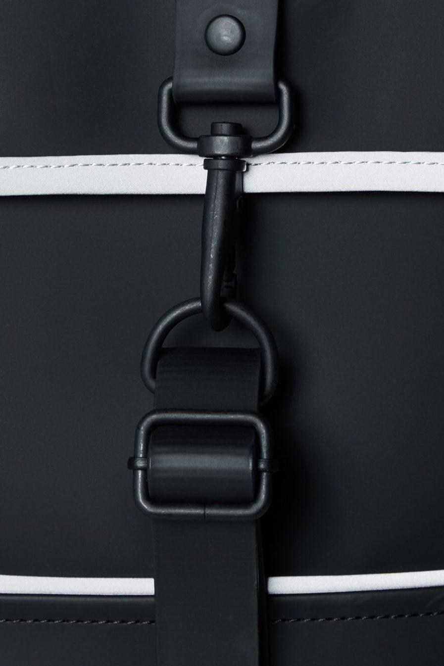 RAINS Backpack Mini Black Reflective