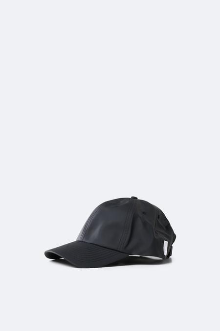 RAINS Cap Black