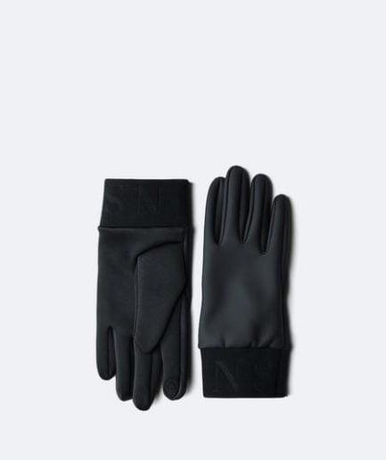 Rains Gloves | Black