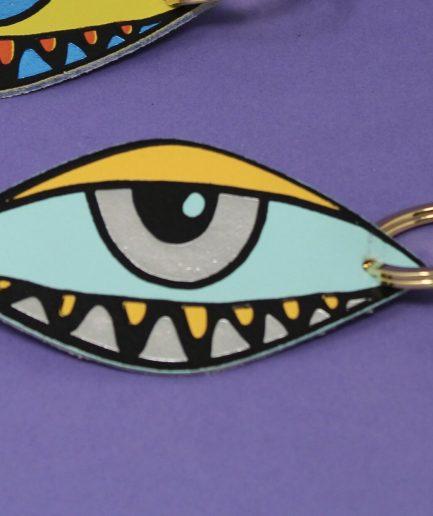 Arc Colour Design EYE EYE key fob