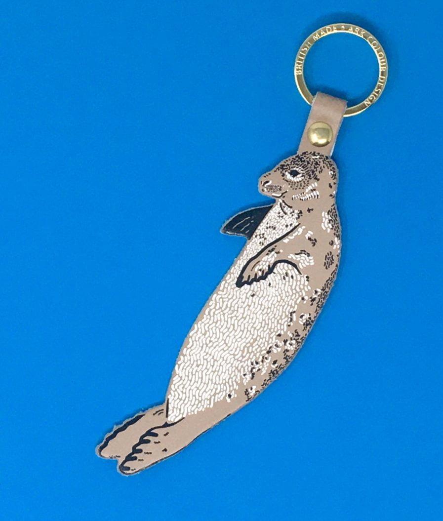 Arc Colour Design SEAL TAUPE key fob