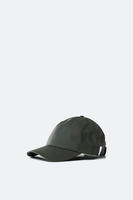 RAINS Cap Green